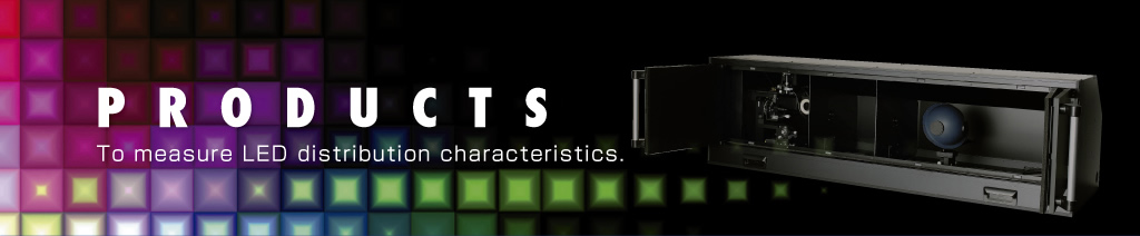 To measure LED distribution characteristics.