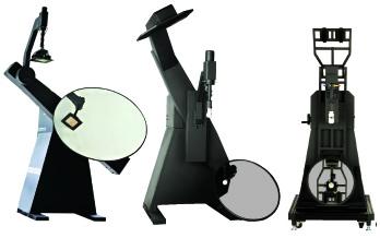运动反光镜分布光度计