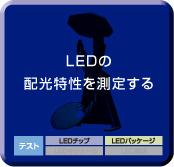 LEDの配光特性を測定する